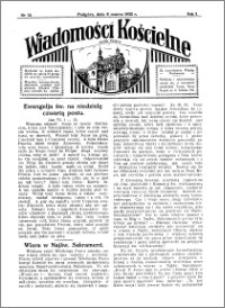 Wiadomości Kościelne : przy kościele w Podgórzu 1931-1932, R. 3, nr 15