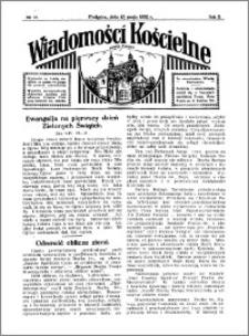 Wiadomości Kościelne : przy kościele w Podgórzu 1931-1932, R. 3, nr 25