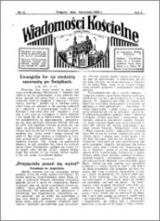 Wiadomości Kościelne : przy kościele w Podgórzu 1931-1932, R. 3, nr 41