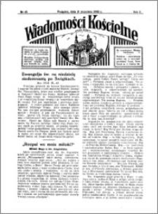 Wiadomości Kościelne : przy kościele w Podgórzu 1931-1932, R. 3, nr 42