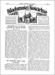 Wiadomości Kościelne : przy kościele w Podgórzu 1932-1933, R. 4, nr 9