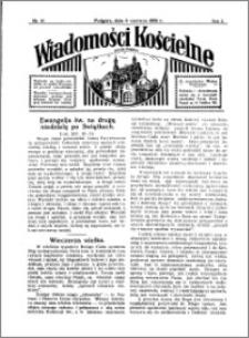 Wiadomości Kościelne : przy kościele w Podgórzu 1933-1934, R. 5, nr 27