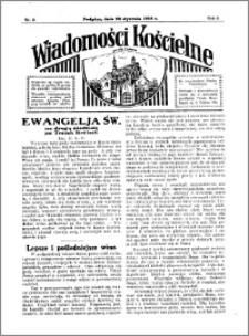 Wiadomości Kościelne : przy kościele w Podgórzu 1934-1935, R. 6, nr 8
