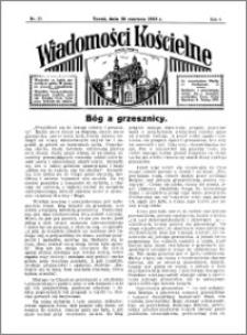 Wiadomości Kościelne : przy kościele w Podgórzu 1934-1935, R. 6, nr 31
