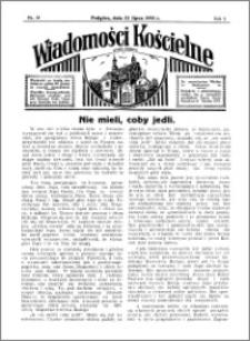 Wiadomości Kościelne : przy kościele w Podgórzu 1934-1935, R. 6, nr 34