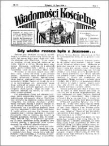 Wiadomości Kościelne : przy kościele w Podgórzu 1935-1936, R. 7, nr 33