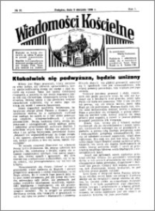 Wiadomości Kościelne : przy kościele w Podgórzu 1935-1936, R. 7, nr 37