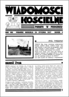 Wiadomości Kościelne : przy kościele w Podgórzu 1936-1937, R. 8, nr 9 + Marjański Huf