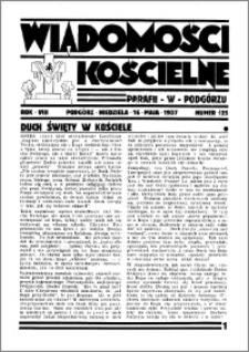 Wiadomości Kościelne : przy kościele w Podgórzu 1936-1937, R. 8, nr 25