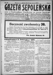 Gazeta Sępoleńska 1928, R. 2, nr 29