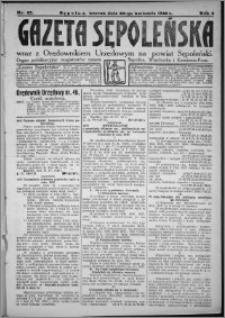 Gazeta Sępoleńska 1928, R. 2, nr 47