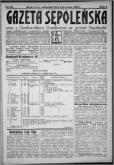 Gazeta Sępoleńska 1928, R. 2, nr 51