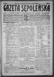 Gazeta Sępoleńska 1928, R. 2, nr 55