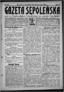 Gazeta Sępoleńska 1928, R. 2, nr 58