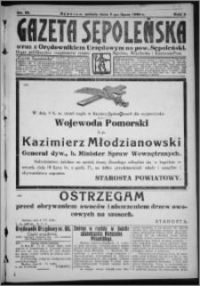 Gazeta Sępoleńska 1928, R. 2, nr 75