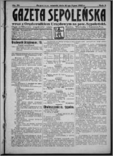 Gazeta Sępoleńska 1928, R. 2, nr 76