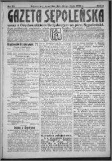 Gazeta Sępoleńska 1928, R. 2, nr 77