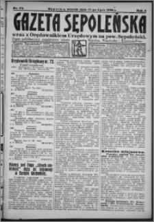 Gazeta Sępoleńska 1928, R. 2, nr 79