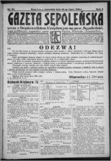 Gazeta Sępoleńska 1928, R. 2, nr 80