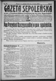 Gazeta Sępoleńska 1928, R. 2, nr 81