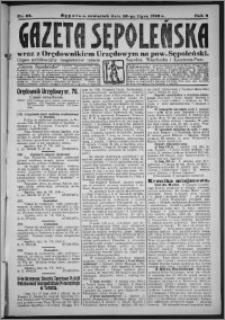 Gazeta Sępoleńska 1928, R. 2, nr 83
