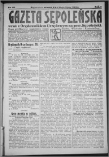 Gazeta Sępoleńska 1928, R. 2, nr 85