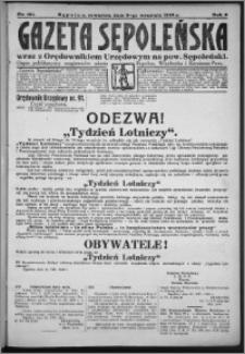 Gazeta Sępoleńska 1928, R. 2, nr 101