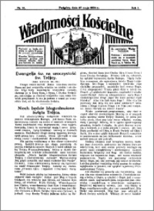 Wiadomości Kościelne : przy kościele w Podgórzu 1933-1934, R. 5, nr 26