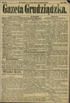 Gazeta Grudziądzka 1907.11.23 R.14 nr 141 + dodatek