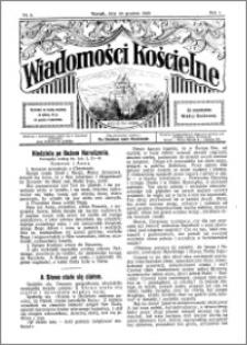 Wiadomości Kościelne : przy kościele św. Jakóba 1929-1930, R. 1, nr 5