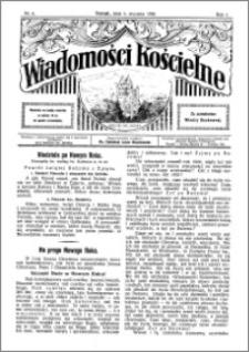 Wiadomości Kościelne : przy kościele św. Jakóba 1929-1930, R. 1, nr 6