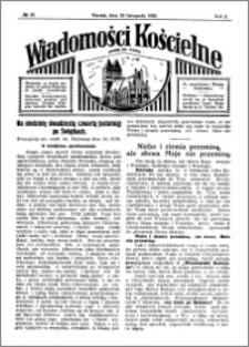 Wiadomości Kościelne : przy kościele św. Jakóba 1929-1930, R. 1, nr 52