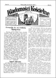 Wiadomości Kościelne : przy kościele św. Jakóba 1931-1932, R. 3, nr 10