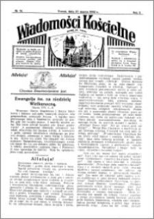 Wiadomości Kościelne : przy kościele św. Jakóba 1931-1932, R. 3, nr 18