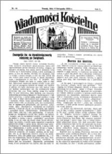Wiadomości Kościelne : przy kościele św. Jakóba 1933-1934, R. 5, nr 49