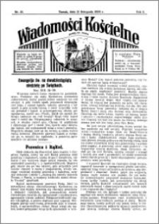 Wiadomości Kościelne : przy kościele św. Jakóba 1933-1934, R. 5, nr 50