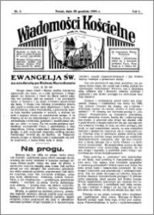 Wiadomości Kościelne : przy kościele św. Jakóba 1934-1935, R. 6, nr 5