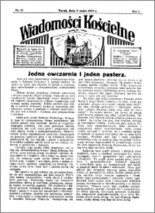 Wiadomości Kościelne : przy kościele św. Jakóba 1934-1935, R. 6, nr 23