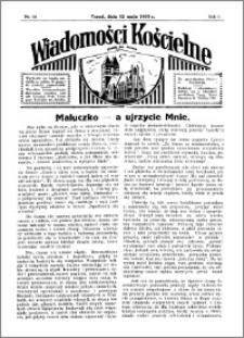 Wiadomości Kościelne : przy kościele św. Jakóba 1934-1935, R. 6, nr 24