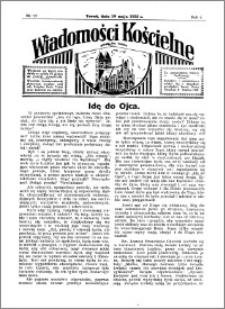 Wiadomości Kościelne : przy kościele św. Jakóba 1934-1935, R. 6, nr 25