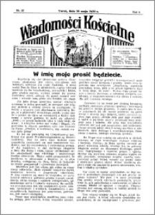 Wiadomości Kościelne : przy kościele św. Jakóba 1934-1935, R. 6, nr 26