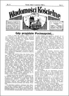 Wiadomości Kościelne : przy kościele św. Jakóba 1934-1935, R. 6, nr 27