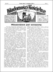 Wiadomości Kościelne : przy kościele św. Jakóba 1934-1935, R. 6, nr 40