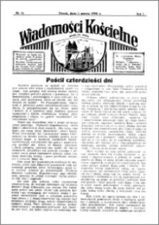 Wiadomości Kościelne : przy kościele św. Jakóba 1935-1936, R. 7, nr 14