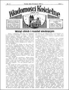 Wiadomości Kościelne : przy kościele św. Jakóba 1935-1936, R. 7, nr 17