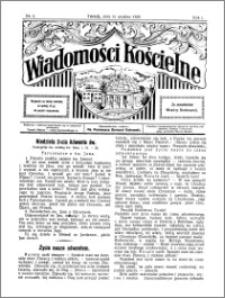 Wiadomości Kościelne : przy kościele Toruń-Mokre 1929-1930, R. 1, nr 3