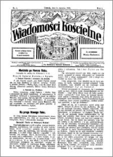 Wiadomości Kościelne : przy kościele Toruń-Mokre 1929-1930, R. 1, nr 6