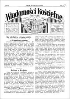 Wiadomości Kościelne : przy kościele Toruń-Mokre 1929-1930, R. 1, nr 16