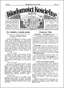 Wiadomości Kościelne : przy kościele Toruń-Mokre 1929-1930, R. 1, nr 18