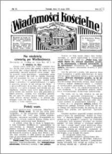 Wiadomości Kościelne : przy kościele Toruń-Mokre 1929-1930, R. 1, nr 25